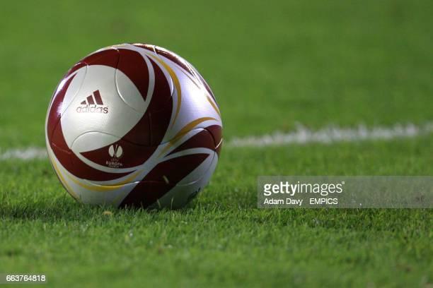 General view of an Adidias Europa League matchball