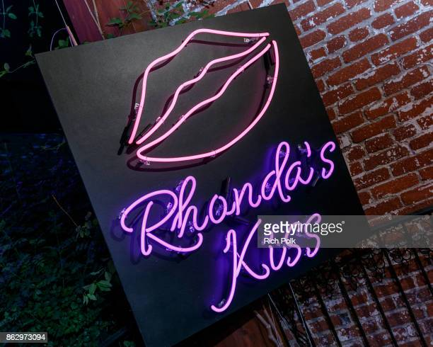 A general view of An Evening With Rhonda's Kiss Charity at Beauty Essex on October 18 2017 in Los Angeles California