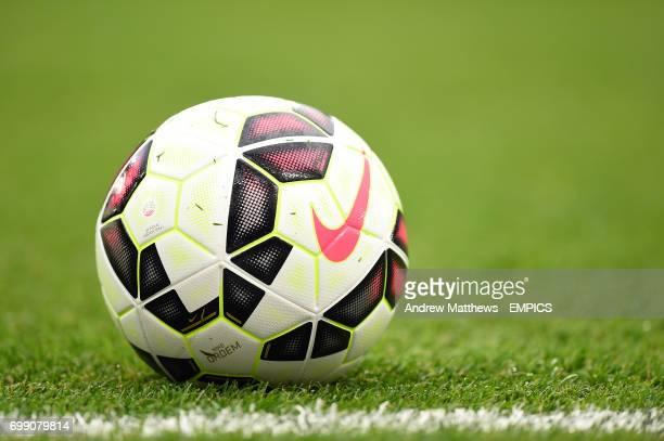 General view of an offical Nike Premier League match ball