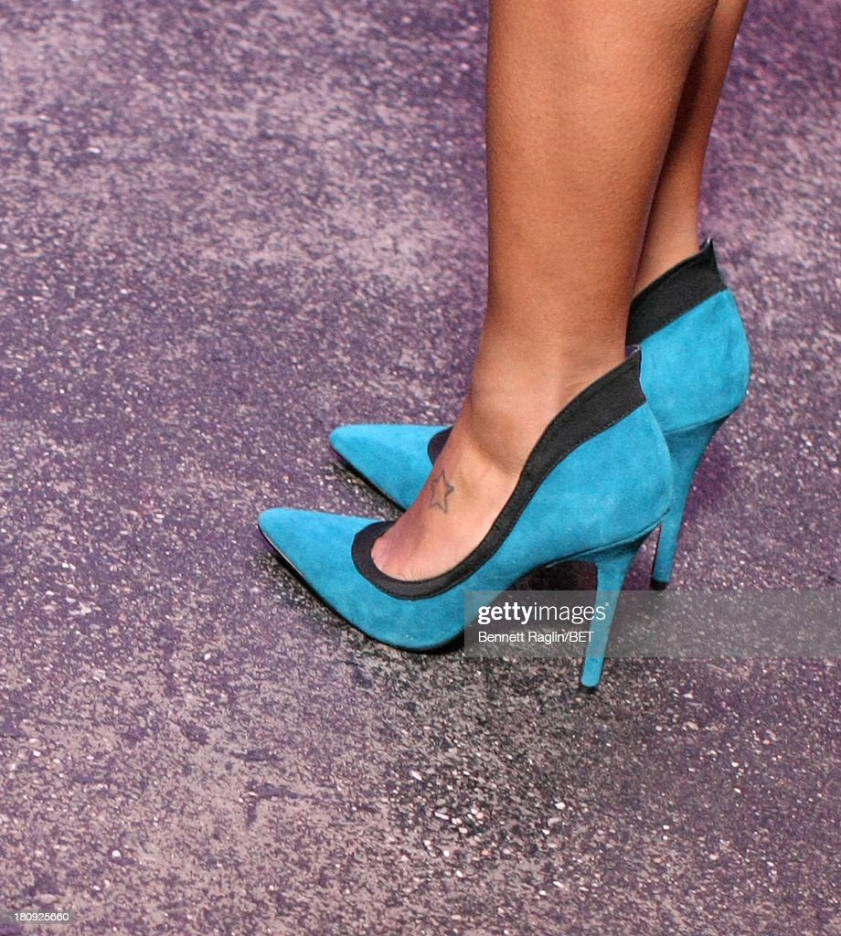 A general view of Angela Simmons shoes 106 & Park On the Road at Tenjune on September 11, 2013 in New York City.