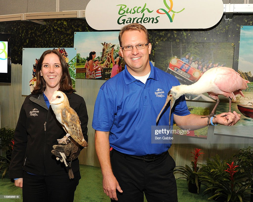 A general view of animals at The 10th Annual New York Times Travel Show Ribbon Cutting And Preview at Javits Center on January 18, 2013 in New York City.