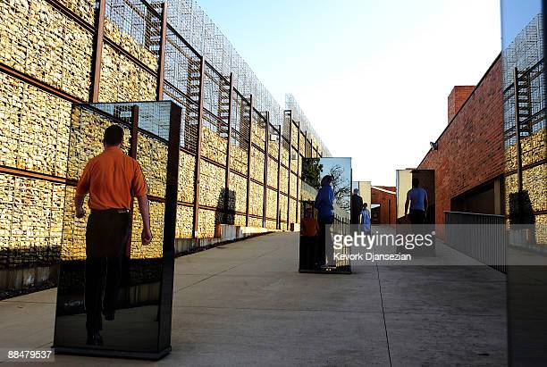 A general view of Apartheid Museum on June 13 2009 in Johannesburg South Africa