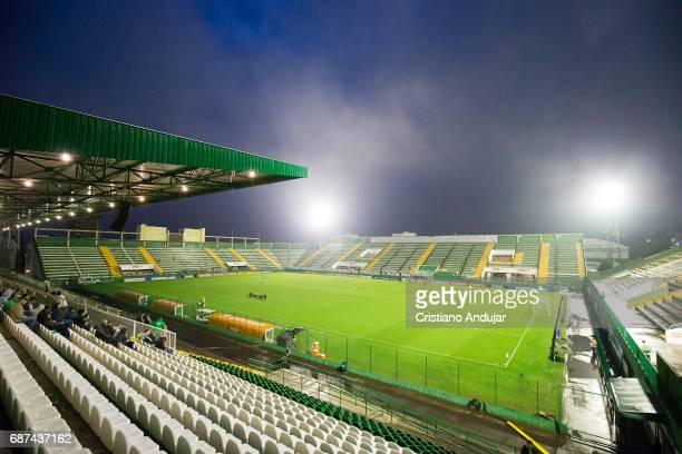 General View of Arena Conda prior a match between Chapecoense and Zulia as part of Copa Bridgestone Libertadores at Arena Conda on May 23 2017 in...