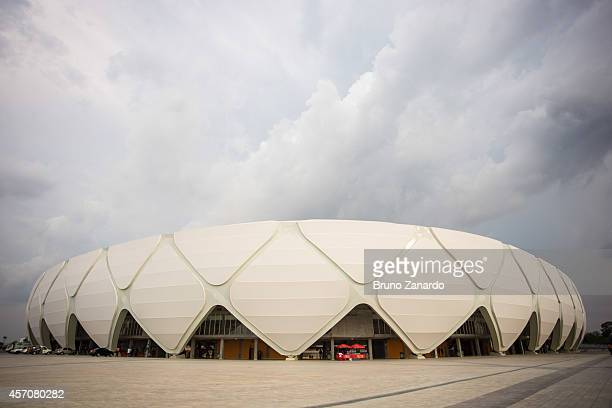 General view of Arena da Amazonia before the match between Corinthians and Botafogo as part of Brasileirao Series A 2014 on October 11 2014 in Manaus...