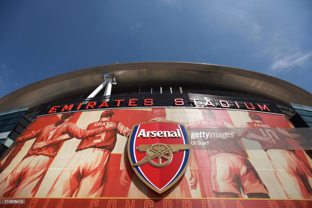 A general view of Arsenal Football Club's Emirates Stadium on April 11, 2011 in London, England. American businessman Stan Kroenke's company 'Kroenke Sports Enterprises' has increased its shareholding in Arsenal to 62.89% and will make an offer for a full takeover of the club. Kronke first purchased 9.9% of Arsenal shares in 2007. Today's deal values the Premier League club at 731m GBP.