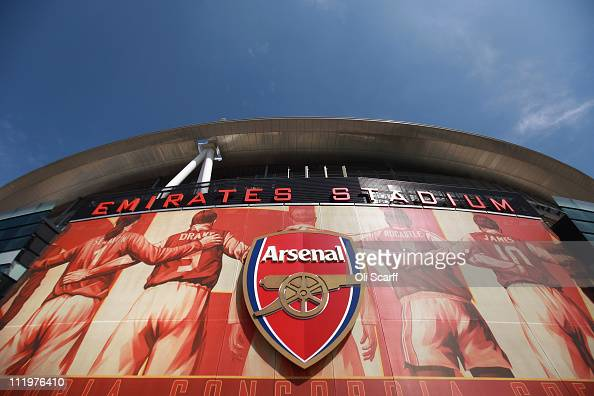 A general view of Arsenal Football Club's Emirates Stadium on April 11 2011 in London England American businessman Stan Kroenke's company 'Kroenke...