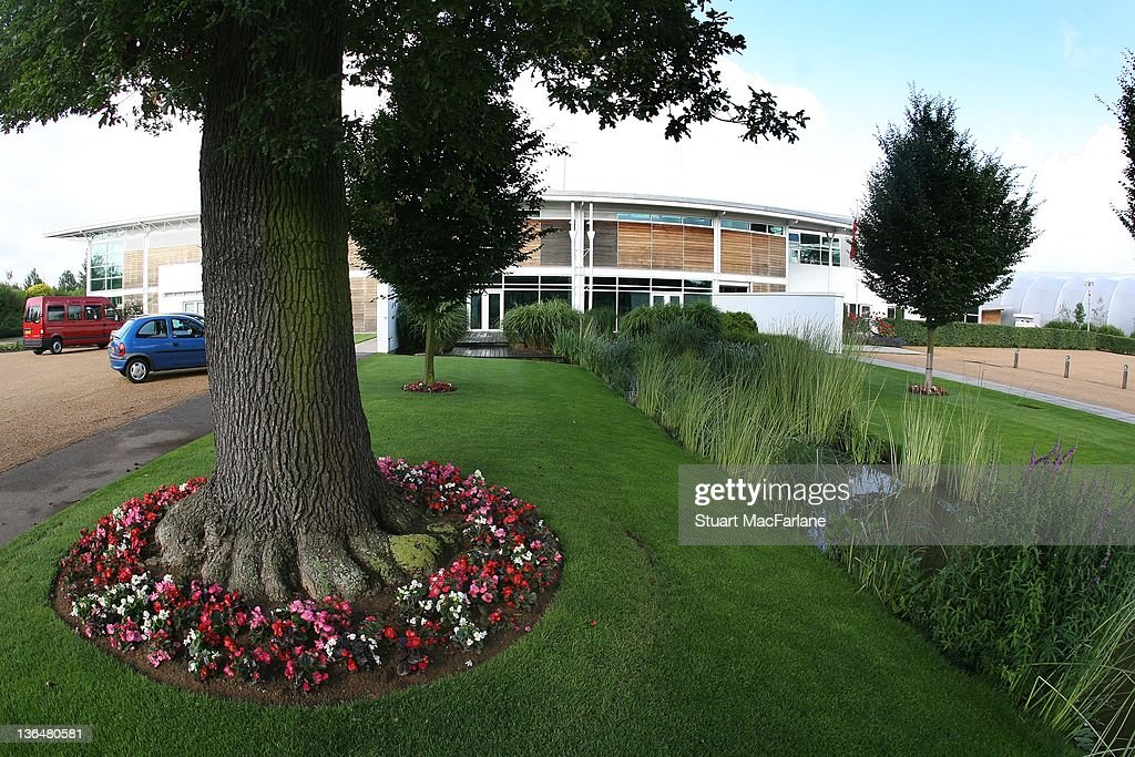 A general view of Arsenal's Training Ground at London Colney on July 8, 2008 in St Albans,England.
