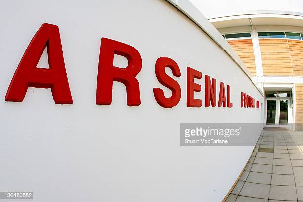 A general view of Arsenal's Training Ground at London Colney on July 8 2008 in St AlbansEngland