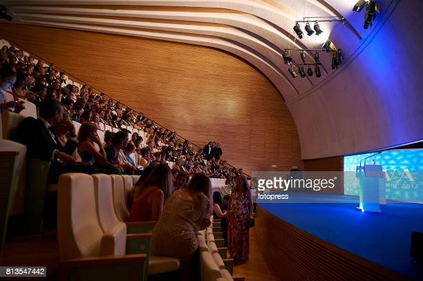 General view of Arts Sciences and Sports Telva Awards 2017 at Palau de Les Arts Reina Sofia on July 12 2017 in Valencia Spain