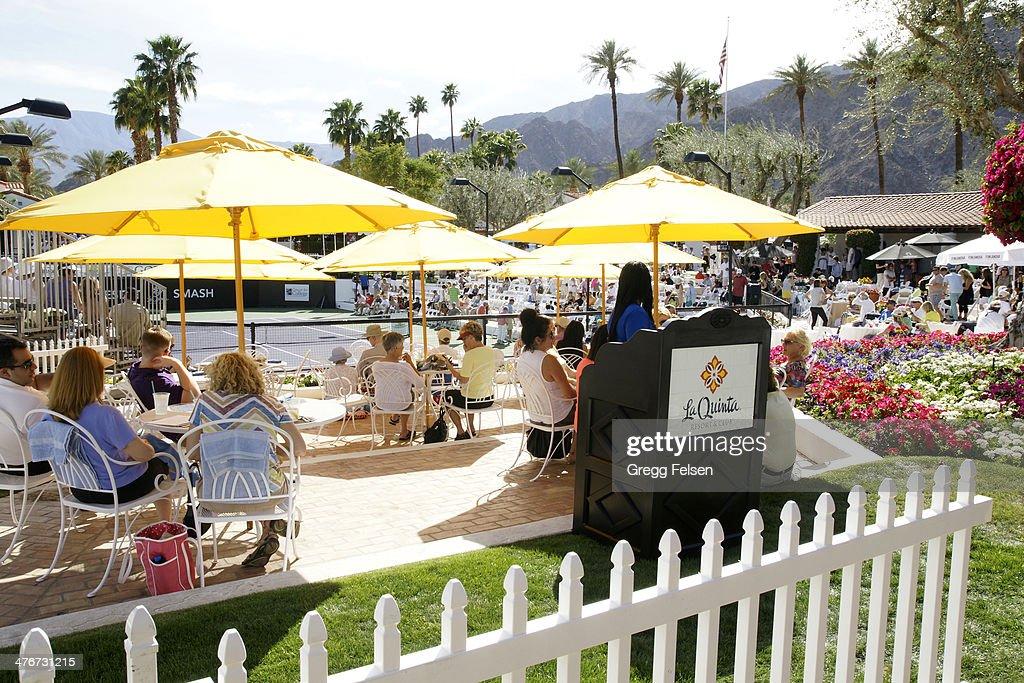 General view of at La Quinta Resort and Club on March 4 2014 in La Quinta California