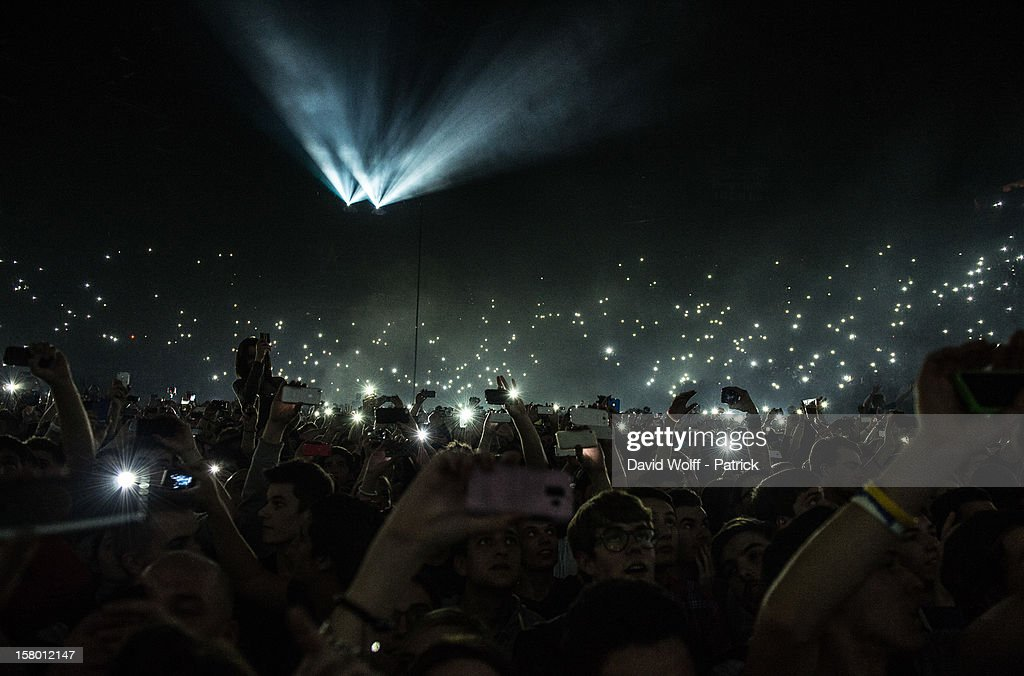 General view of at Palais Omnisports de Bercy on December 8, 2012 in Paris, France.
