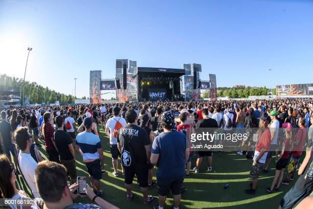 A general view of athmosphere at the Download Festival on June 23 2017 in Madrid Spain