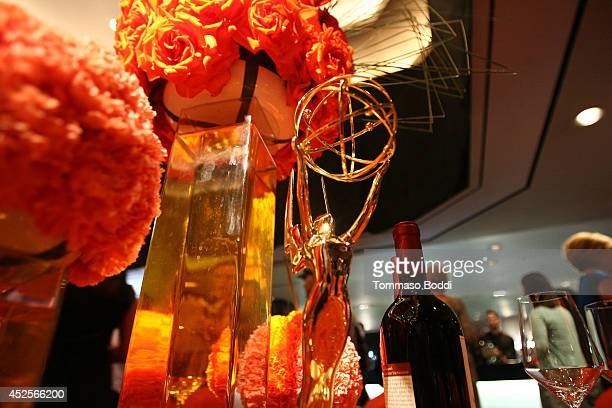 A general view of atmosohere at the 66th Emmy Awards Governors Ball 2014 Creative Arts Ball Sneak Peek Press Preview at Leonard H Goldenson Theatre...
