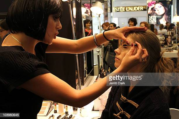 General view of atmosophere at the celebration of Touchups Tango with Lancome spokesmodels Elettra Wiedemann Arlenis Sosa during Fashion's Night Out...