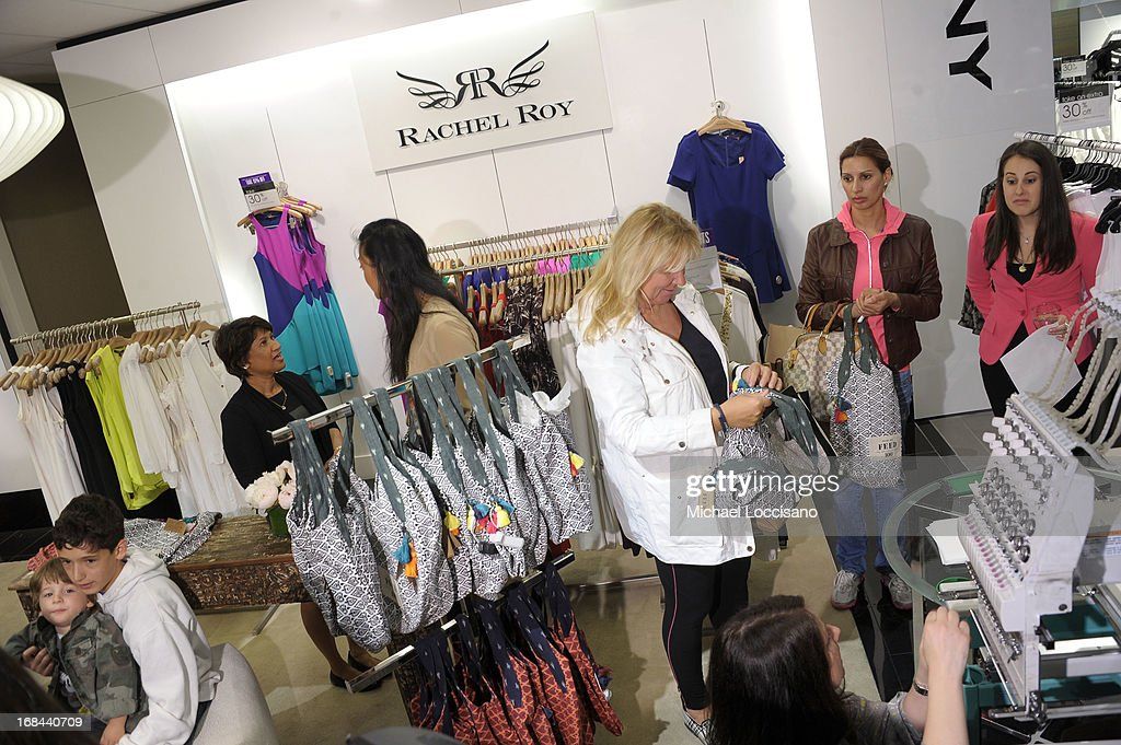 General view of atmosphere as Rachel Roy debuts FEED India Collaboration with Lauren Bush Lauren at Bloomingdale's 59th Street Store on May 9, 2013 in New York City.