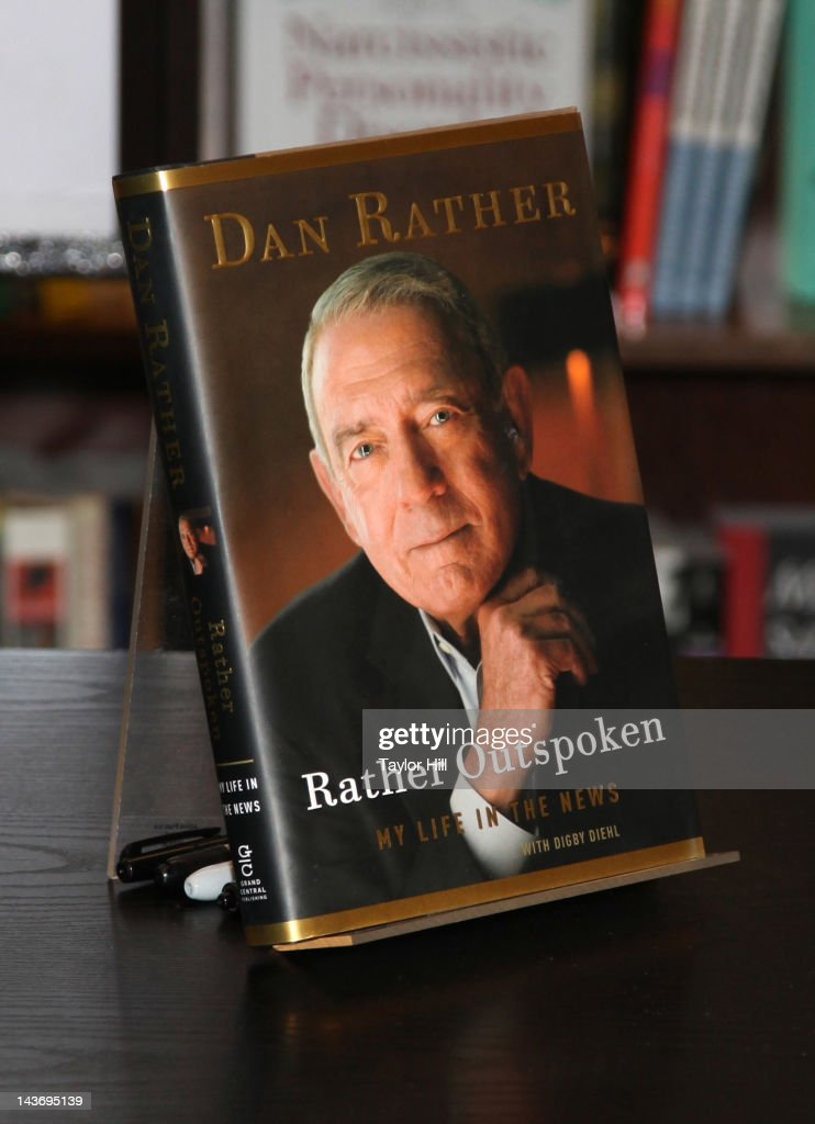 A general view of atmosphere as retired anchor Dan Rather promotes 'Rather Outspoken: My Life In The News' at Barnes & Noble 82nd Street on May 2, 2012 in New York City.