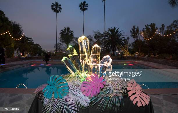 A general view of atmosphere as seen at Millie Brown's Rainbow Bodied Cocktail Event at the Private Residence of Jonas Tahlin CEO Absolut Elyx on May...