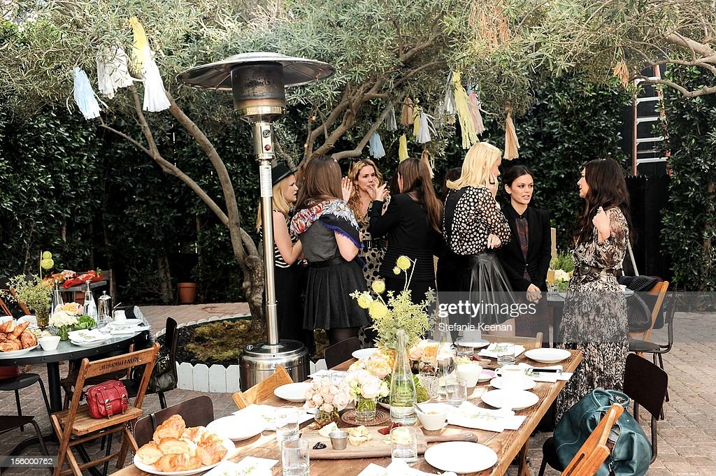General view of atmosphere as ShoeMint Celebrates 1 Year Anniversary With Rachel Bilson And Nicole Chavez at Laurel Hardware on November 10, 2012 in West Hollywood, California.