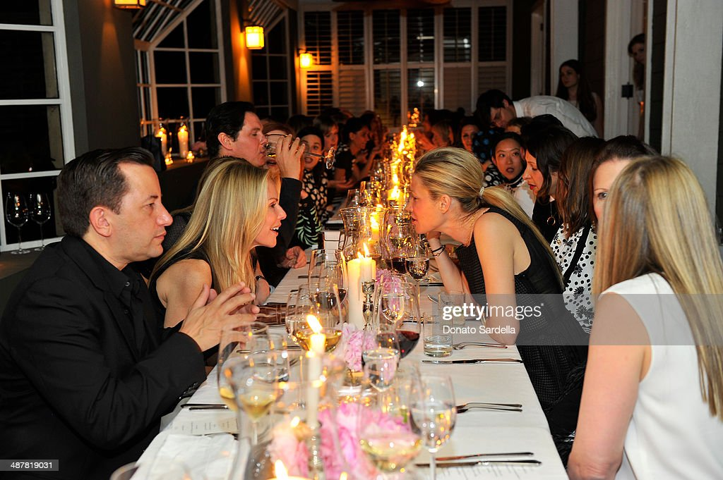 A general view of atmosphere at A private dinner In honor of Fausto Puglisi of Emanuel Ungaro hosted by Barneys New York at Chateau Marmont on May 1, 2014 in Los Angeles, California.