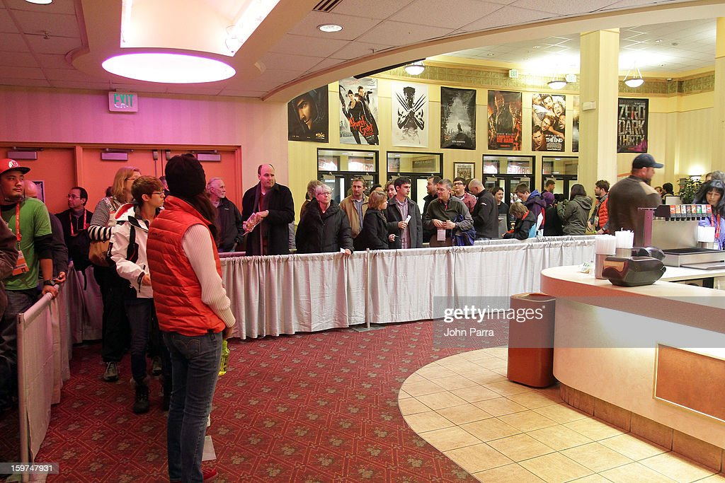 A general view of atmosphere at Adventure Time at Sundance at Redstone Cinema 1 at Kimball Junction on January 19, 2013 in Park City, Utah. (Photo by John Parra/WireImage) 23186_001_JP_0009.JPG
