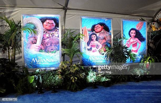 A general view of atmosphere at AFI FEST 2016 Presented By Audi Premiere of Disney's 'Moana' at the El Capitan Theatre on November 14 2016 in...