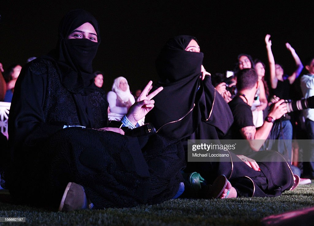A general view of atmosphere at Arab Hip Hop Concert during the 2012 Doha Tribeca Film Festival at Katara Sony Open Air Cinema on November 18, 2012 in Doha, Qatar.