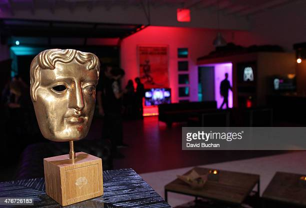 A general view of atmosphere at BAFTA LA Celebrates the nominees for The British Academy Games Awards at Smudge Studios on March 4 2014 in Los...