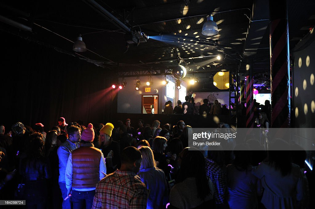 A general view of atmosphere at boohoo US Launch - The Hacienda with Shenae Grimes & Josh Beech on March 21, 2013 in New York City.