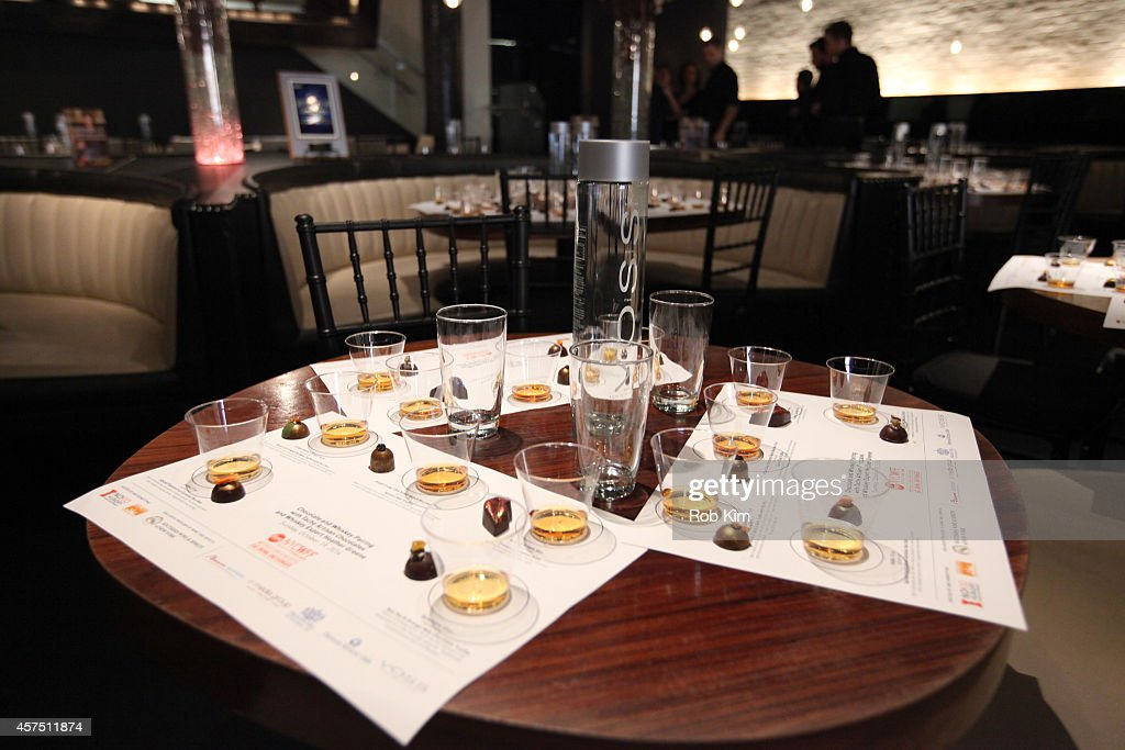 A general view of atmosphere at Chocolate And Whiskey Pairing With Tache Artisan Chocolate during Food Network New York City Wine & Food Festival Presented By FOOD & WINE at STK on October 19, 2014 in New York City.