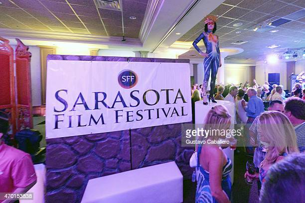 A general view of atmosphere at 'Cinema Tropicale' during the 2015 Sarasota Film Festival on April 17 2015 in Sarasota Florida