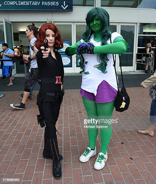 A general view of atmosphere at ComicCon International 2015 at the San Diego Convention Center on July 8 2015 in San Diego California