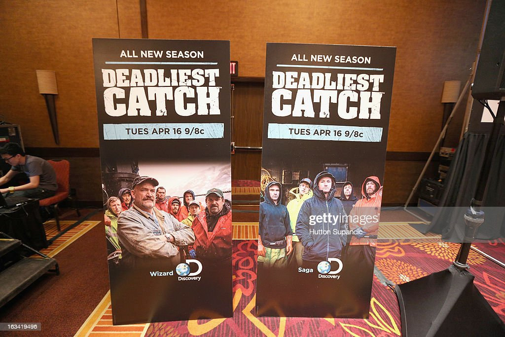 A general view of atmosphere at Deadliest Catch's Twitter For Tough Guys during the 2013 SXSW Music, Film + Interactive Festival at Hyatt Regency Austin on March 9, 2013 in Austin, Texas.