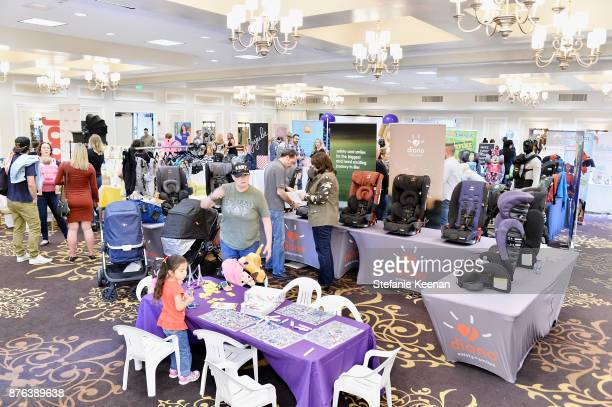A general view of atmosphere at Diono Presents Inaugural A Day of Thanks and Giving Event at The Beverly Hilton Hotel on November 19 2017 in Beverly...