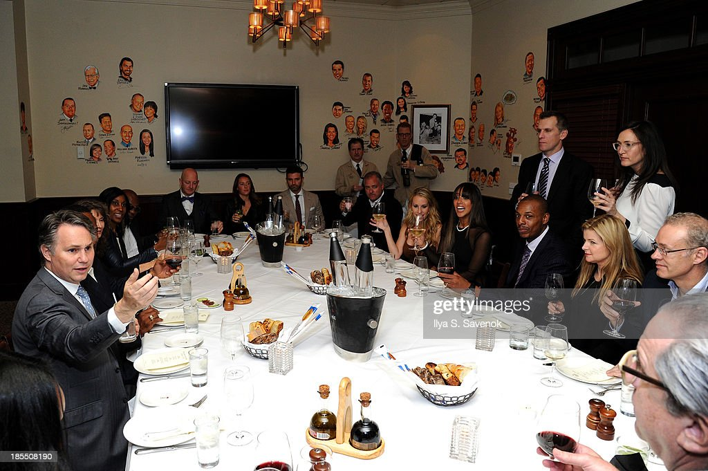 A general view of atmosphere at DuJour Magazine's Jason Binn Along With GRAFF's Henri Barguirdjian's Dinner Party Welcoming Brooklyn Nets Paul Pierce To New York at The Palm Tribeca on October 21, 2013 in New York City.