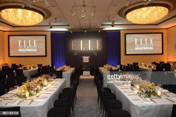 A general view of atmosphere at ELLE's 24th Annual Women in Hollywood Celebration presented by L'Oreal Paris Real Is Rare Real Is A Diamond and...