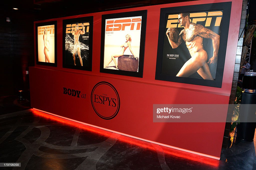 A general view of atmosphere at ESPN the Magazine 5th annual 'Body Issue' party at Lure on July 16, 2013 in Hollywood, California.