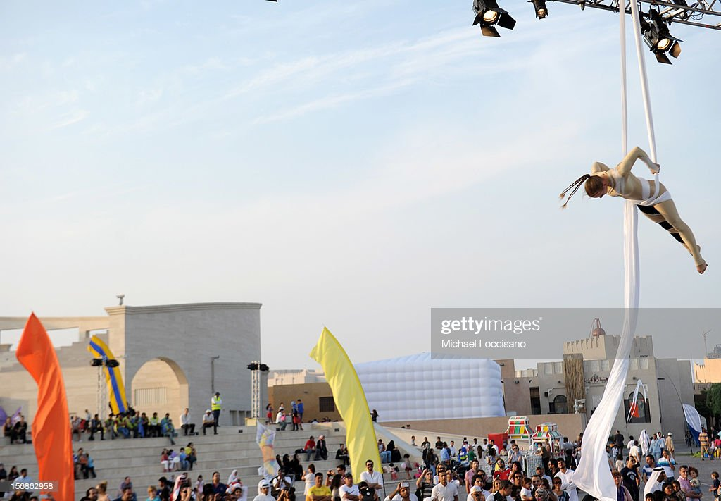 A general view of atmosphere at Family Day during the 2012 Doha Tribeca Film Festival at on November 23, 2012 in Doha, Qatar.