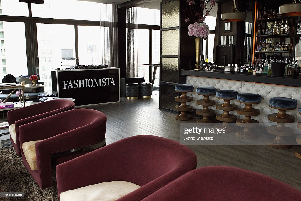 General view of atmosphere at Fashionista.com Celebrates 'How To Make It In Fashion' Conference With VIP Party at The Skylark on June 26, 2014 in New York City.