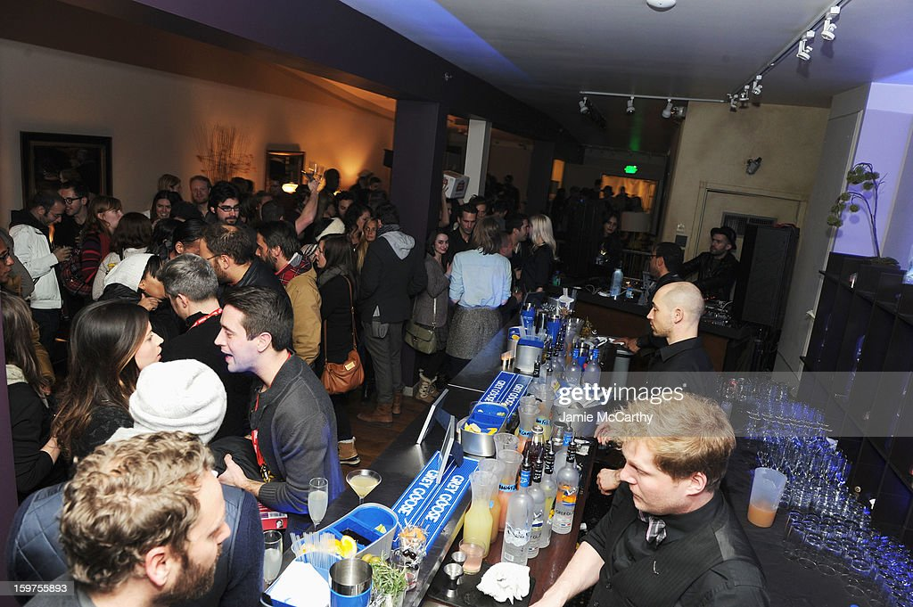 A general view of atmosphere at Grey Goose Blue Door Anonymous Content Party on January 19, 2013 in Park City, Utah.