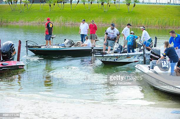 General view of atmosphere at Hot Rods Reels Fishing Tournament To Benefit The Darrell Gwynn Chapter Of The Buoniconti Fund To Cure Paralysis at...