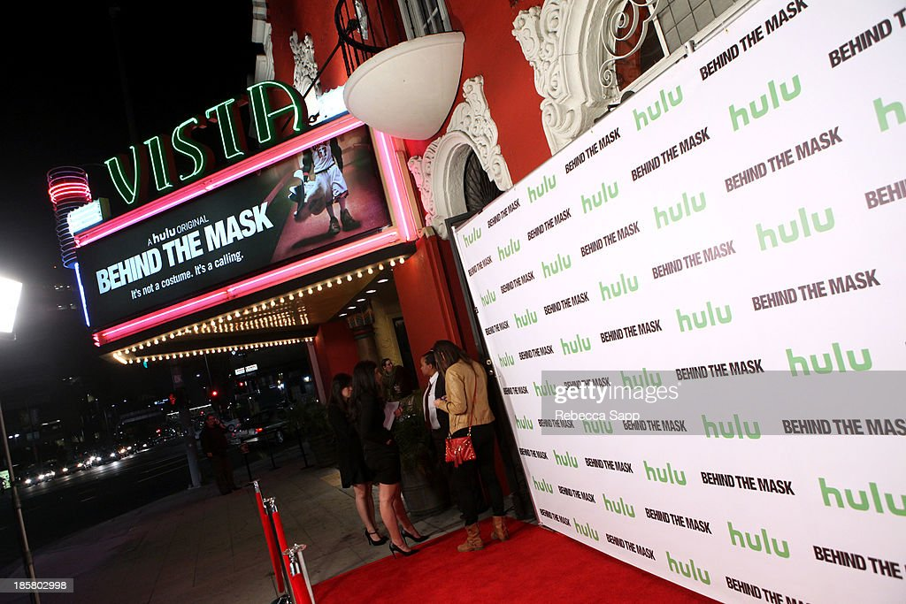 A general view of atmosphere at Hulu Presents The LA Premiere Of 'Behind the Mask' at the Vista Theatre on October 24, 2013 in Los Angeles, California.