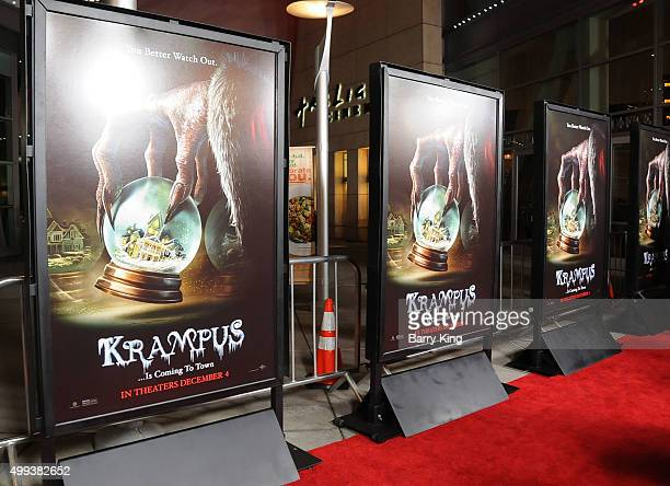 A general view of atmosphere at industry screening of Universal Pictures' 'Krampus' at ArcLight Cinemas on November 30 2015 in Hollywood California