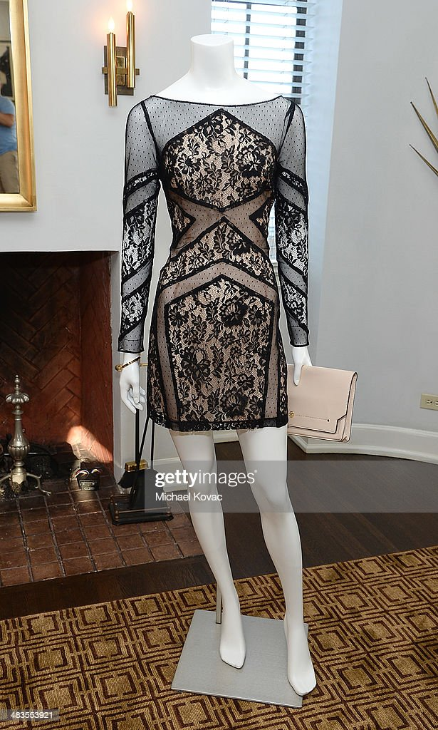 General view of atmosphere at Kate Hudson celebrates the Little Black Dress Collection for Ann Taylor at Chateau Marmont on April 8, 2014 in Los Angeles, California.
