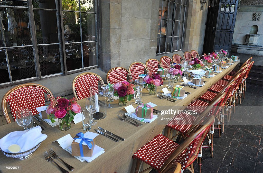 A general view of atmosphere at Lucky Brand's Measure of Style Dinner at Chateau Marmont on June 13, 2013 in Los Angeles, California.