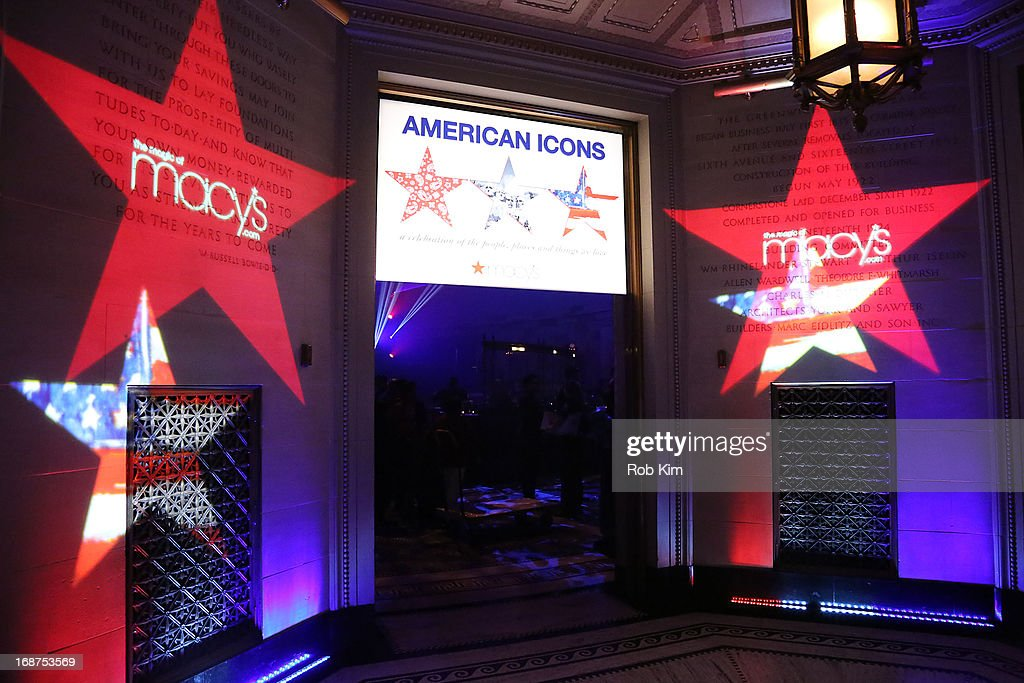 General view of atmosphere at Macy's launches 'American Icons' at Gotham Hall on May 14, 2013 in New York City.