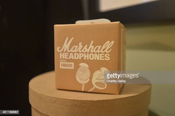 A general view of atmosphere at Marshall Headphones Presents Jason Lee Parry's EXILE Gallery With Performances By J Mascis And The Family Rain at No...