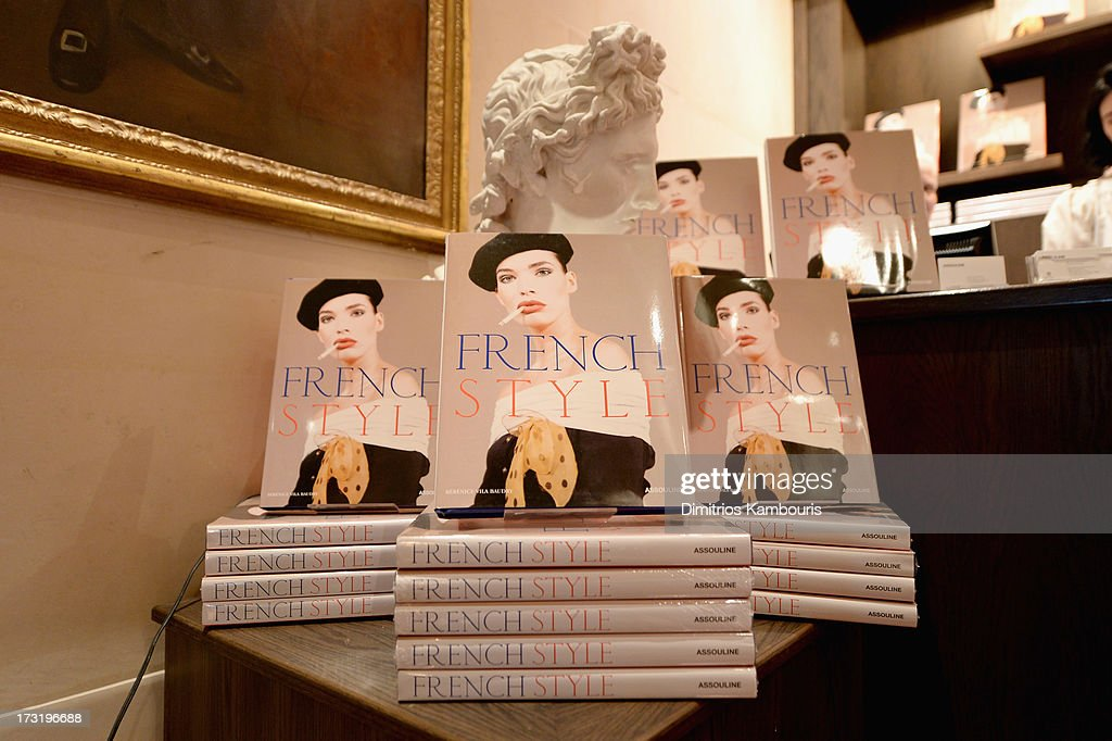 General view of atmosphere at Martine and Prosper Assouline host book signing for author Berenice Vila Baudry's 'French Style' with the Ambassador of France Francois Delattre at Assouline at The Plaza Hotel on July 9, 2013 in New York City.