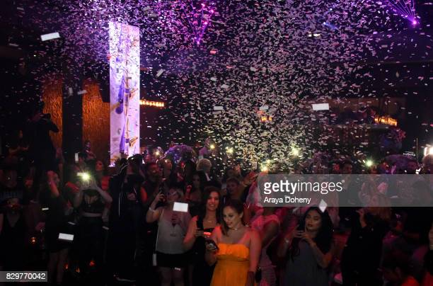 A general view of atmosphere at Maybelline New York Celebrates First Ever Cobranded Product Collection With Beauty Influencer Shayla Mitchell at 1OAK...