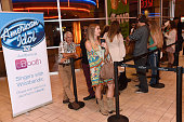 A general view of atmosphere at Season XV American Idol auditions at bBooth Nashville at Opry Mills Mall on September 26 2015 in Nashville Tennessee