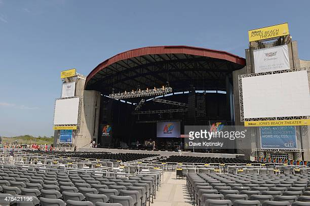 A general view of atmosphere at the 1035 KTU's KTUphoria 2015 PreGame Party at Nikon at Jones Beach Theater on May 31 2015 in Wantagh New York